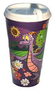 2021 Disney Parks EPCOT Flower And Garden Festival Figment Drink Tumbler Cup NEW
