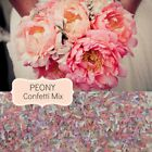 PEONY Wedding Confetti Biodegradable Paper Chic Scatters Vintage Wedding