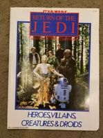 Star Wars Return of the Jedi Poster Giant Collector's Compendium - 1983