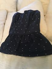 Gilly hicks xs Blue Poka Dot Dress/top