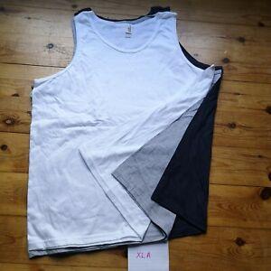 VEST 3x XL MENS Vests Tank unisex BUNDLE pack Gym Wear job lot mixed A cheap
