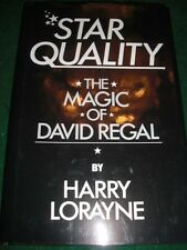 Star Quality - The Magic of David Regal - Harry Lorayne - Hard to Find