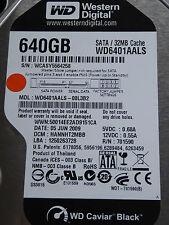 Western Digital WD6401AALS-00L3B2 DCM: HANNHT2MBB / 05JUN2009 - 640 GB Hard Disk