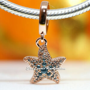 Authentic Pandora Sparkling Starfish 788942C01 Charm