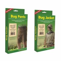 Coghlan's Bug Suit Pants & Jacket X-Large Black Unisex Lightweight Mosquito Net