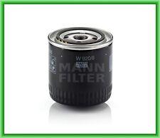 Filtro aceite MANN W 920/6 CHRYSLER 300 C, M, Dodge, JEEP CHEROKEE, Piaggo,