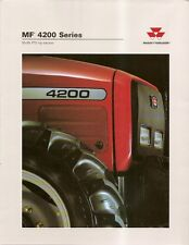 Farm Tractor Brochure - Massey Ferguson - MF 4270 et al 4200 series 1997 (F1869)