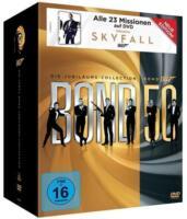 James Bond - Die Jubiläums Collection - DVD - FSK 16 - Top*** (P)