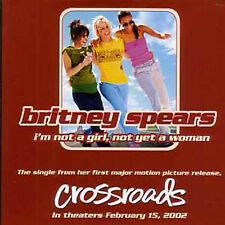 CD Single Britney SPEARS I'm not a girl, not yet a woman 2-Track CARD SLEEVE NEW