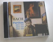 NEW Bach:Partitas BWV 825/bwv 826/bwv 830 Massimo Palumbo