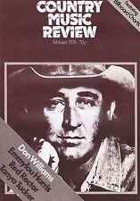 DON WILLIAMS / EMMYLOU HARRIS / TANYA TUCKERCountry Music ReviewFeb1976