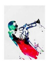 Miles Davis Watercolor Print  Matted and Framed Ready