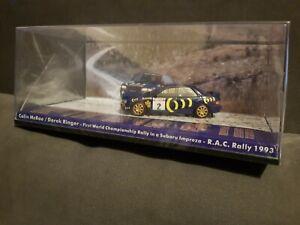 Colin Mcrae / Derek Ringer 1993 WRC Subaru Impreza 555 1:43 RAC Rally model
