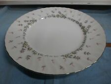"""Style House Fine China PICARDY 10.5"""" Dinner Plates Roses/Floral Made in JAPAN"""