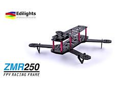 DRONE QUADCOPTER CARBON FRAME ZMR250 QAV250 TELAIO QUADRICOTTERO ARM THICK 4MM