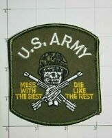 US Army Mess With The Best Die Like The Rest Patch Green Beret Special Forces