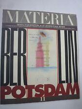 Materia - rivista d'architectura - Berlin - Potsdam - n°11