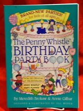 NOS THE PENNY WHISTLE BIRTHDAY PARTY BOOK BY BROKAW & GILBAR