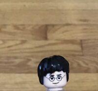 Silver Headband and Light Flesh Elf Ears HP#102 Lego Hair Long Wavy with Braid