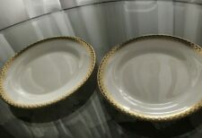 "Wedgewood Chester Bone China Porcelain Dessert / Bread Plate 6"" Set of 2 England"