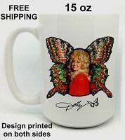 Dolly Parton, Mother, Grandma, Birthday, Christmas Gift, White Mug 15 oz, Coffee