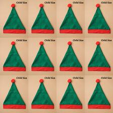 Fieltro Elfo Sombreros Al por mayor Navidad Santa fiesta vestido elegante a granel de Oficina Navidad Niño