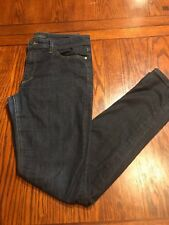 JOE'S JEANS Midrise Skinny Stretch Dark Wash Denim Jeans Sz 30 (M1)