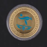 2002 Australia XVII Commonwealth Games $5 Coin Manchester  G-812
