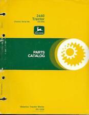 John Deere 2440 Tractor Parts Catalog