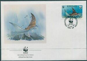 Kiribati 1991 SG349 20c Manta Ray FDC