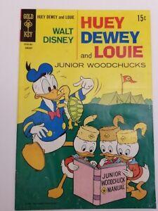Vintage 1970 NO. 4 Walt Disney Huey Dewey and Louie Junior Woodchucks Comic Book