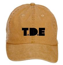 Top Dawg Entertainment Logo TDE Cotton Washed Baseball Cap ColorName Hats Cap