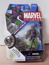 New Marvel Universe Green Goblin Figure 015 Classic Outfit Spiderman Sealed Ex+