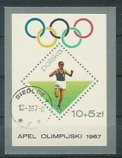 Poland used stamps Preolympic games (Mi. B40)