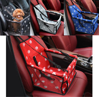Folding Pet Dog Cat Car Seat Travel Carrier Kennel Puppy Handbag Sided Bag Box