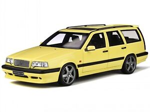 Volvo 850 T5-R Station Wagon ivory yellow diecast model car OT310 Otto 1:18