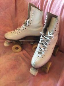 Artistic Roller Skates Dance Singles SNYDER SUPER DELUXE Riedell 4