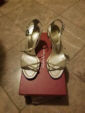 Salvatore Ferragamo Polinuro Shoes Women Size 7 1/2 C New With Box