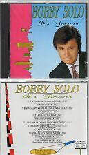 BOBBY SOLO  CD It's forever MADE in ITALY sigillato STAMPA ITALIANA sealed 1991