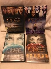 Once Upon A Time Complete First,Second,Third and Fourth Seasons DVD 1,2,3,4