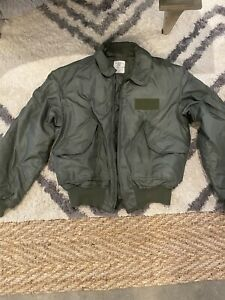 Military Flyers Cold Weather Jacket  8415-00-310-1133 45/P Large NWOT  Aramid