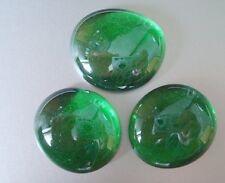 Glasnuggets - dunkelgrün, irisierend, 100 g