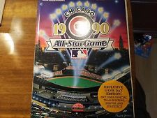 Chicago Cubs 1990 All Star game program - Wrigley Field - Sosa, Boggs, Ripkin