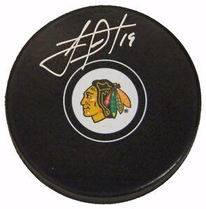 Jonathan Toews Chicago Blackhawks Signed Autographed Hockey Puck