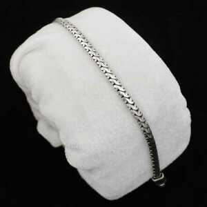 Chains Men's Silver Bracelet, 925 Sterling Silver Bracelet ,Elegant Bracelet