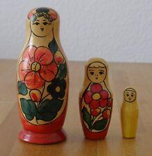 Ostereier Eier Dekoeier Babuschka Matroschka Matrjoschka  Holz Holzeier bemalt Osterdekoration Feste & Besondere Anlässe