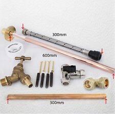Professional THRU WALL Outside Garden Tap Kit meets Water Regulations GT5 DIY