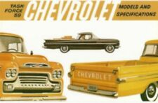 CHEVROLET 1959 Truck Sales Brochure 59 Chevy Pick Up