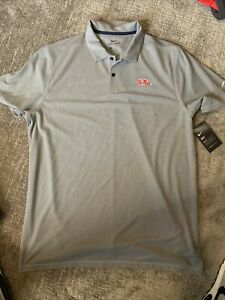 NWT Mens Nike Dri-fit Polo - Ole Miss Tigers — Size Large