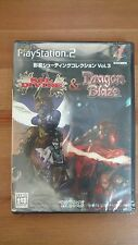 Psikyo shooting collection vol. 3 sol divide & dragon blaze PlayStation 2 jap
